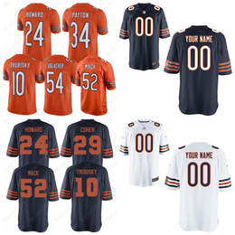 52 Khalil Mack Jersey Bears Chicago 10 Mitchell Trubisky 58 Roquan Smith 24  Howard 89 Mike Ditka 34 Walter Payton 29 Tarik Cohen 17 Miller 53c3ad535