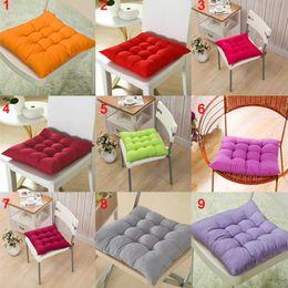 $enCountryForm.capitalKeyWord Australia - 40*40CM Winter Home Office Decor Seat Cushion Solid Color Comfortable Bar Chair Sofa Pillow Buttocks Chair Cushions 66CY