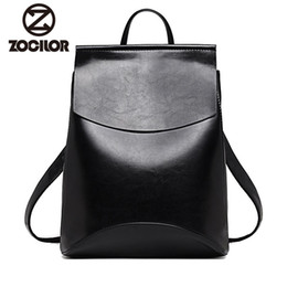 Styles Backpacks Australia - Fashion Women Backpack High Quality Youth Leather Backpacks For Teenage Girls Female School Shoulder Bag Bagpack Mochila Y19061204