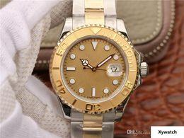 $enCountryForm.capitalKeyWord Australia - N 18K genuine gold package rose gold luxury watch 40MM ETA2836 movement two-way automatic chain mechanical men's watch