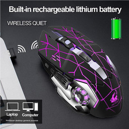 $enCountryForm.capitalKeyWord Australia - BEESCLOVER Rechargeable Wireless Silent LED Backlit Gaming Mouse USB Optical Mouse for PC Silent Gaming with Batteries r29