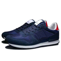 Mens Sapatos Casuais sneaker Mulheres Sapatos Waffles Mens calçados esportivos respirar livremente INTERNATIONALIST FRETE GRÁTIS EURO 36-44 em Promoção
