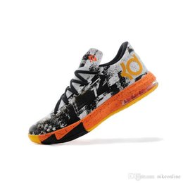 Discount kd shoes aunt pearls - Cheap Mens what the KD 6 vi low tops basketball shoes Aunt Pearl Pink BHM MVP Blue Gold Floral Kevin Durant KD6 sneakers