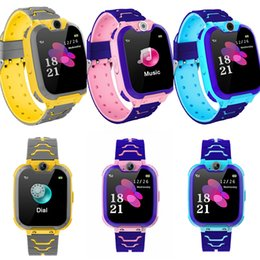 smart watch security NZ - Child Smart Digital Watch With Security Anti-Lost Sos Emergency Call Lbs Positioning Kids Clock Intelligent Power Saving Watches #867
