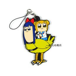 2019 Nuovo arrivo POP TEAM EPIC Originale giapponese anime figura in gomma cellulare portachiavi ciondoli cinghia