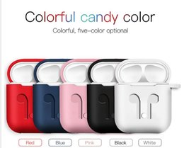 Apple Dhl Australia - For Apple Airpods Silicone Case Soft TPU Ultra Thin Protector Cover Sleeve Pouch for Air pods Earphone silicon Case DHL Free