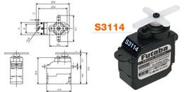 Servo Gears Australia - FUTABA S3114 Servo small steering gear for DIY robot Model pilot micro steering gear with warranty simulation steering gear shift