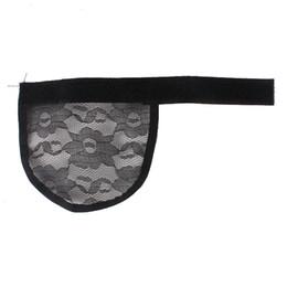 Wholesale 5Pcs lot Hair Net Making Ponytail Hairnet Adjustable Strap On The Back Weaving Cap Glueless Wig Cap Good Quality