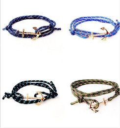 Anchor infinity Bracelet Fashion Multilayer Rope Bracelet for Women and Men  High Quality tom hope Paracord Friendship Bracelets cny1067 f4fa73a547da