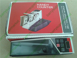 bill cash UK - Mini Portable Handy Money Counter for most Currency Note Bill Cash Counting Machine EU V40 Financial Equipment