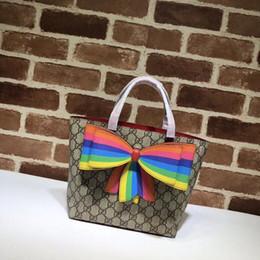 $enCountryForm.capitalKeyWord NZ - 501804 WOMEN rainbow bow-knot mini HANDBAGS SHOULDER MESSENGER BAGS TOTES ICONIC CROSS BODY BAGS TOP HANDLES CLUTCHES EVENING