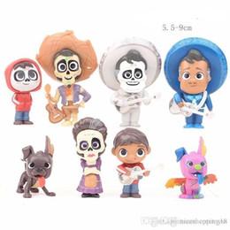 $enCountryForm.capitalKeyWord Australia - Pretty store Sales COOL COCO Mini doll 5.5cm-9cm PVC Kawaii Children Toys Anime Action Figures Realistic Reborn Dolls for boys 8Pcs lot