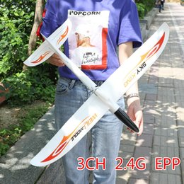 rc fixed wing drones Australia - Wingspan RC Airplane 2.4G 3CH Fixed Wing RTF Drone Flying Model Airplanes RC Plane Toys