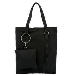 $enCountryForm.capitalKeyWord NZ - Women's Fashion Casual Tote Canvas Shoulder Bags&Handbag+Clutch Wallet Casual Large Capacity Borsa a tracolla#40