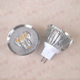 low ceiling lighting 2019 - Low Voltage Lamp Cup Spotlight High Power LED 3W 12V Spotlight Ceiling Lights Aluminum Lamp Cup MR16 12V 3W cheap low ce