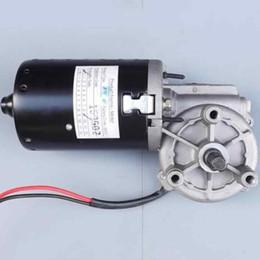 $enCountryForm.capitalKeyWord Australia - Worm gear reducer motor 24 V DC high speed motor auto lock metal gear can be positive and negative!