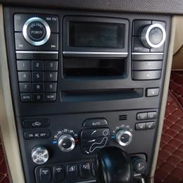$enCountryForm.capitalKeyWord Australia - Car Interior Decoration Acc Air Conditioning Fan Button Audio Stereo Volume Control Knob Ring Cover Kit For Volvo Xc90 2009-2014