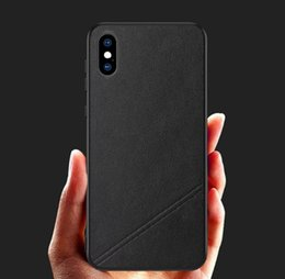 $enCountryForm.capitalKeyWord Australia - 2019 Genuine leather Cell Phone Case For iPhone 8 7 6s 6 X XS MAX XR Classic Luxury Back Cover Coque Protector