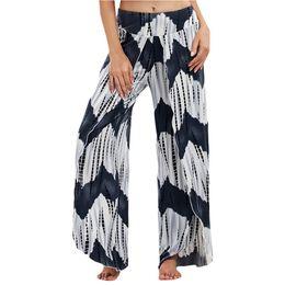 $enCountryForm.capitalKeyWord Australia - Fashion Gym sport Leggings Womens Summer Leisure Tie dyeing Split Loose Long Yoga Pants For women 2019