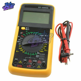$enCountryForm.capitalKeyWord Australia - DT9205A Digital Multimeter Electric Multimetro Ammeter Voltmeter Resistance Capacitance hFE Volt Amp Ohm AC DC LCD Tester Probe