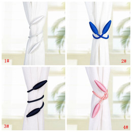 Wholesale Wholasale Curtains Bandages Buckle Creative Home Textile Curtain Strap Buckle Holder Rope Window Curtains Decorative Accessories DBC BH3567