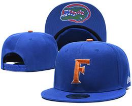 Wholesale spring florida online – design New Caps Florida Gators College Football Snapback Hats Cap Green Color Team Hats Mix Match Order All Caps in stock