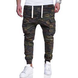 $enCountryForm.capitalKeyWord UK - 2019 Camouflage Tactical Cargo Pants Men Joggers Boost Casual Streetwear Sweatpants Hip Hop Ribbon Male Army Trousers M-4xl C19041303