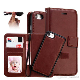 Luxury Credit Card Iphone Australia - For Iphone 6S XS 7 8 plus XR MAX mobile cell phone case luxury business leather wallet case with stand photo frame credit cards slots magnet