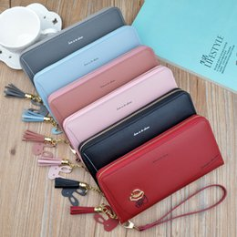 Peach Dress Clutch Bag Australia - Europe and the United States new ladies wallet long zipper coin purse fashion mobile phone bag large-capacity wallet clutch bag 2019