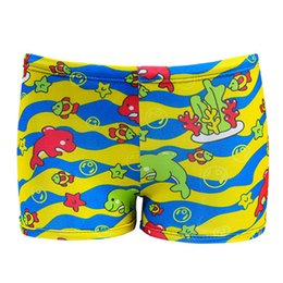 6074b13c26568 Boys Animal Swim Shorts UK - Cartoon Printed Children Swimming Trunks Boys  Swimwear Beach Wear Swim