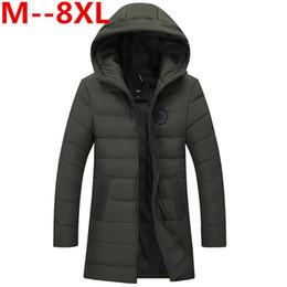 $enCountryForm.capitalKeyWord Australia - 10XL 9XL 8XL 6XL 5X Brand Cotton Padded Hooded Jacket Men windproof,Parka Men Clothing Thick Quilted long type Coat,Mens Hoodies