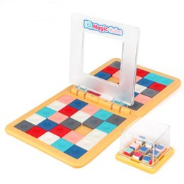 kids games race UK - Drop Shipping Puzzle Cube 3D Puzzle Race Cube Board Game Kids Adults Education Toy Parent-Child Double Speed Game Magic Cubes