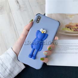 $enCountryForm.capitalKeyWord Australia - New KAWS Toys Sesame Street 3D Soft Silicone Shock Proof Flower Bear Milk Lips Cartoon Pattern Cover Case For Iphone8 Plus XR XS Huawei P20