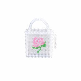 $enCountryForm.capitalKeyWord Australia - 2019 New Vintage Pebble Bag Pink Rose Tote INS Hand-woven Bag