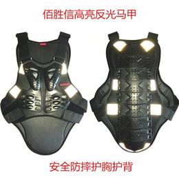 $enCountryForm.capitalKeyWord Australia - SX041 reflective vest motross Back Support Motorcycle Full Body Armor Jacket Spine Chest Protection Gear Y