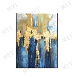 Decor Abstract Australia - Wholesale pure Hand-painted abstract oil painting wall art home decor landscape Abstract Oil Painting on canvas for living room no framed