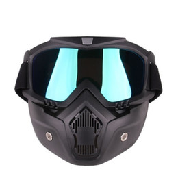 Girls Ski Goggles Australia - Motocross Goggles Mask Harley Helmet Tactical Goggles Windproof Ski Glasses Riding Cycling Racing Hiking Sport Accessories1 #328798