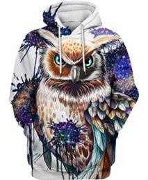 $enCountryForm.capitalKeyWord Australia - mens hoodie hoodies sweater owl fox 3d pullover Lion sweatshirt men women tops New Streetwear Casual Hip Hop Pockets pullovers jumpers S-5XL