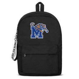 $enCountryForm.capitalKeyWord UK - Men Women high quality nylon Backpack Memphis Tigers Basketball logo adjustable daily Travel Daypack Bookbag free shipping