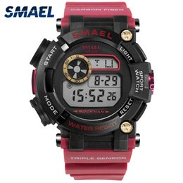 $enCountryForm.capitalKeyWord Australia - SMAEL Digital Wristwatches Army Watches Waterproof LED Clock relogio Masculino 1638 Sport Watches for Men