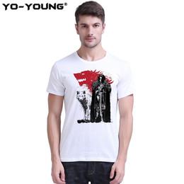 $enCountryForm.capitalKeyWord Australia - Yo-Young Game Of Thrones Jon Snow T shirts Men Digital Print 100% 180 gsm Combed Cotton Casual T shirts Short Sleeve Customized