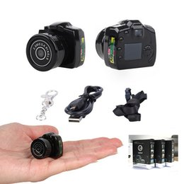 Wholesale Y2000 Tiny Mini Camera HD Video Audio Recorder Webcam Y2000 Camcorder Small DV DVR Security Secret Nanny Car Sport Micro Cam with Mic