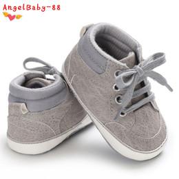 $enCountryForm.capitalKeyWord Australia - Baby Boy Shoes child Walkers Canvas First shoes Boy Newborn Prewalker Spring Classic For kids Baby