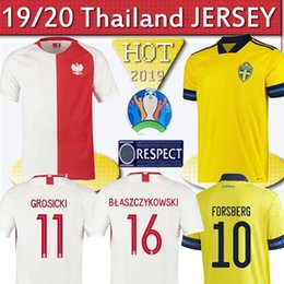 Uniform cUp online shopping - Thailand Poland Special Edition100th Anniversary European cup Soccer Jersey Sweden jersey Portuga Football Shirts Uniform