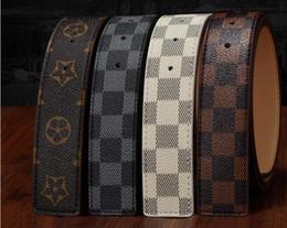 Platinum mens gifts online shopping - 2019 mens women belt designer belts new brand designer belts mens high quality g buckle belts Leather men women leather belt