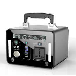 $enCountryForm.capitalKeyWord Australia - AC 110V 220V 500W lithium portable power station backup power supply Lithium-ion Battery Pack Solar Generator 132500mah
