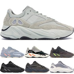 35c0e6604 With Box 700 V2 Wave Runner Geode Inertia Solid Grey Vanta Geode Static  Mauve Men Women Kanye West Running Shoes Designer Sneakers