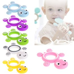 food grade silicone teething beads 2019 - New Style! Silicone Teether Silicone Bracelet* Silicone beads Turtle Teether, Food Grade Teethers 12 colors total discou