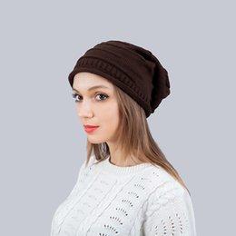 Folding Art Table Australia - Hot Korean version of the fold pile ladies winter hat knit hat