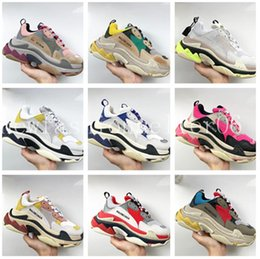 Table Tracks online shopping - dad Balenciaga shoes Track traple s trape s casual outdoor hiking shoes clear sole trainers